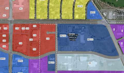 Rahal Property Zoning Map