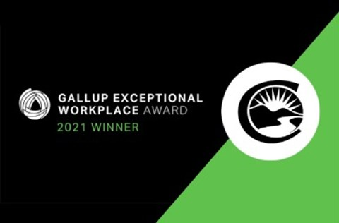 Gallup Exceptional Workplace Awards, Centennial 2021 Winner Image