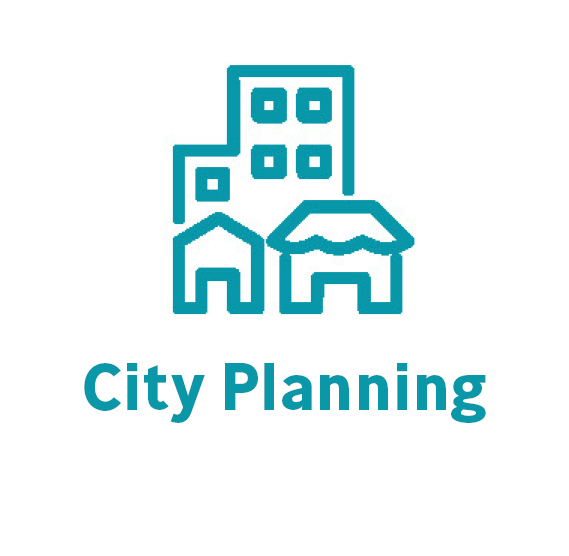 city planning button
