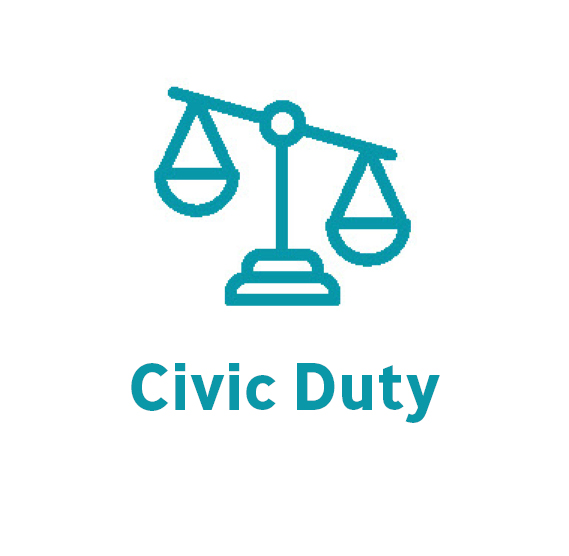 civic duty button