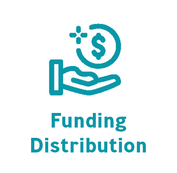funding distribution button